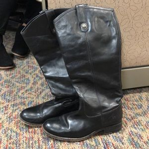 Frye Extended Calf Riding Boots